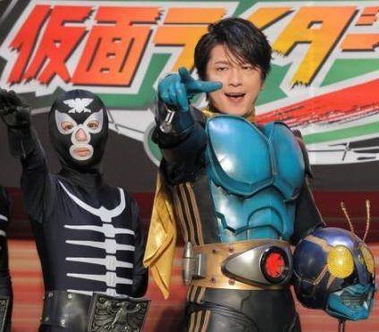 及川光博かっこいい仮面ライダー