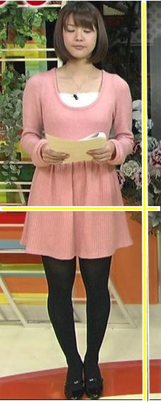 久代萌美アナの太ももが人気?脚が長いかを検証!